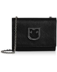 Furla Onyx Leather Viva Mini Pochette