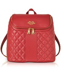 Love Moschino - Quilted Eco Leather Backpack - Lyst