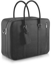 Pineider - City Chic - Double Handle Calfskin Briefcase - Lyst