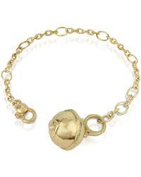 Torrini - Ball - 18k Gold And Diamond Charm Bracelet - Lyst