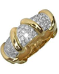 Torrini - Twister - 18k Yellow Gold Diamond Ring - Lyst