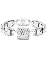 Michael Kors - Mkc1027an040 Mercer Link Women's Ring - Lyst