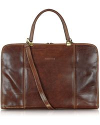 Chiarugi - Double Handle Leather Briefcase - Lyst