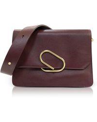 3.1 Phillip Lim - Bordeaux Leather Alix Shoulder Bag - Lyst