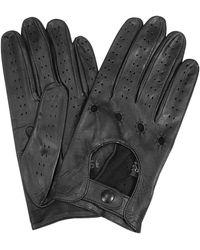 FORZIERI - Herrenhandschuhe aus italienischem Leder in schwarz - Lyst
