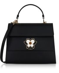 Furla - Onyx Mughetto Medium Top Handle Satchel Bag - Lyst