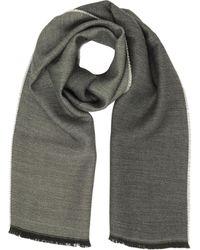 Marina D'este - Solid Wool Scarf - Lyst