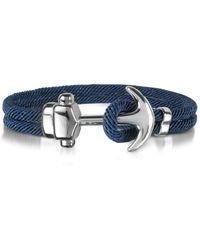 FORZIERI - Nautical Rope Double Bracelet W/anchor - Lyst