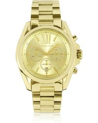 de5c974c6b9b Michael Kors - Mid-size Bradshaw Chronograph Watch - Lyst
