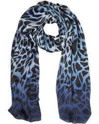 Marina D'este - Animalier Twill Silk Stole - Lyst