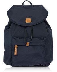 Bric's - X-travel Blue Nylon Backpack - Lyst
