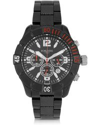 FORZIERI - Kimi Black And Red Stainless Steel Men's Watch - Lyst