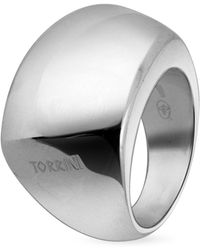 Torrini - Trapezoidal Sterling Silver Ring - Lyst