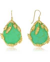 Aurelie Bidermann - 18kt Gold Plated Earrings - Lyst