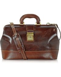 Chiarugi - Handmade Leather Professional Doctor Bag - Lyst