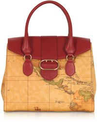 Alviero Martini 1A Classe - Wonder Geo Large Satchel Bag - Lyst