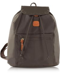 Bric's - X-travel Olive Nylon Backpack - Lyst