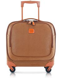 Bric's - Life Camel Micro Suede Small Pilot Cabin Spinner - Lyst