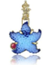 Tagliamonte | Marina Collection - Blue Starfish Ruby & 18k Gold Pendant | Lyst