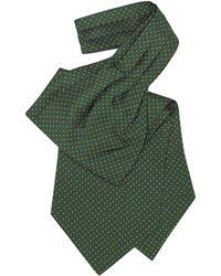 FORZIERI - Mini Daisy Print Silk Ascot - Lyst