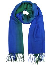 Mila Schon   Cashmere And Wool Fringed Stole   Lyst