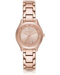 Karl Lagerfeld - Belleville Rose Gold-tone Pvd Stainless Steel Women's Quartz Watch - Lyst