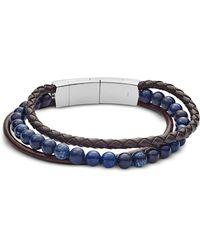Fossil - Jf02885040 Vintage Casual Men's Bracelet - Lyst