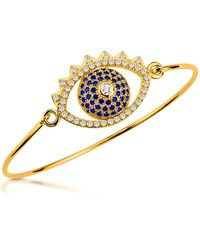 KENZO - Eye Bangle Bracelet - Lyst