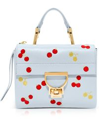 Coccinelle - Arlettis Leather Mini Bag W/cherry - Lyst