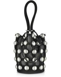 Alexander Wang | Roxy Leather Mini Bucket Bag | Lyst