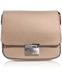 Emporio Armani - Mini Smooth Leather Shoulder Bag - Lyst