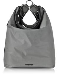 Ermenegildo Zegna - Grey Nylon Men's Tote Bag/backpack - Lyst