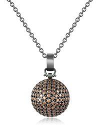 40ed574f8a Bijou de sac en cuir Hermès en coloris Marron - Lyst