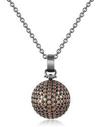 Azhar - Semi-sphere Pendant Necklace - Lyst