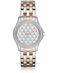 Armani Exchange - Ax5249 Lady Hampton Women's Watch - Lyst