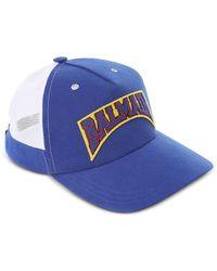 Balmain - Two Tone Signature Baseball Cap - Lyst