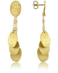 Torrini - Nuvole Moving - 18k Gold Drop Earrings - Lyst