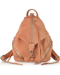 Rebecca Minkoff - Desert Nubuck Julian Medium Backpack - Lyst