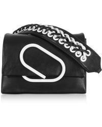 3.1 Phillip Lim - Alix Micro Sport Black Leather Crossbody Bag - Lyst