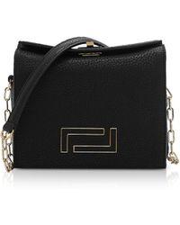 Lancel - Pia Mini Chain Shoulder Bag - Lyst