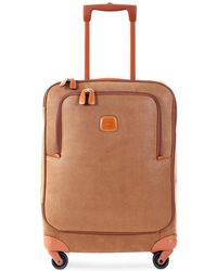 Bric's - Life Camel Micro Suede Small Trolley - Lyst