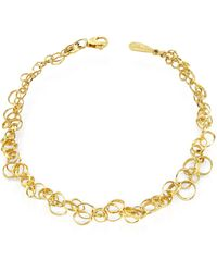 Orlando Orlandini - Scintille - 18k Yellow Gold Bracelet - Lyst