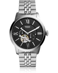 Fossil - Townsman Automatic Stainless Steel Watch - Lyst