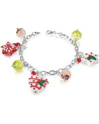 Dolci Gioie - Christmas Hearts And Stars Bracelet - Lyst