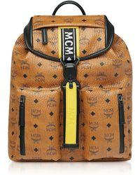c840846123c Lyst - MCM Men s X Wizpak Medium Stark Backpack - Cognac in Brown ...