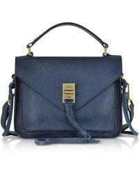 Rebecca Minkoff - Glossy Leather Mini Darren Messenger Bag - Lyst