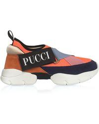 Emilio Pucci - Color Block City-cross Nylon Sneakers - Lyst