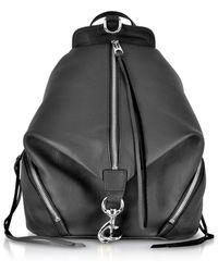 Rebecca Minkoff - Balck Leather Julian Backpack - Lyst