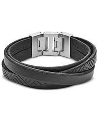 Fossil - Jf02998040 Vintage Casual Men's Bracelet - Lyst