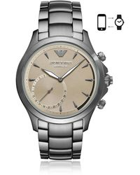 Emporio Armani - Connected Men's Hybrid Smartwatch - Lyst